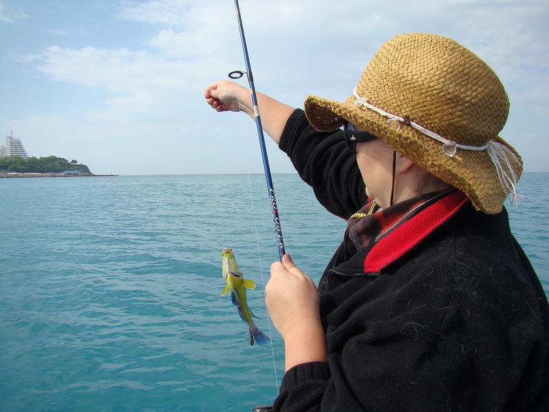 Ловят ли рыбу в анапе