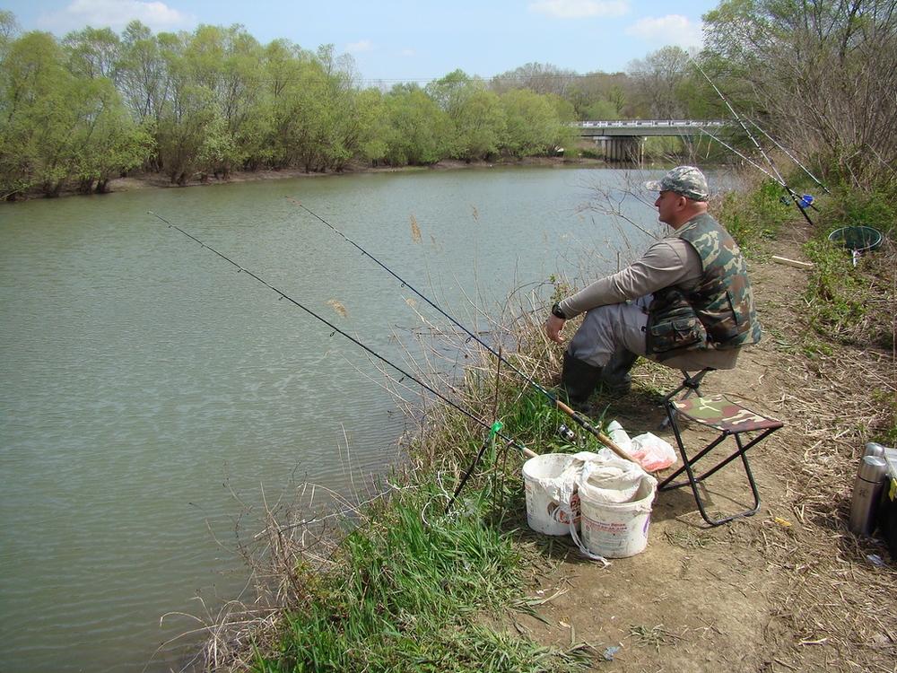 рыбалка в начале мая в подмосковье