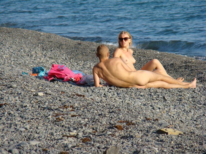 порно видео пляж анапа