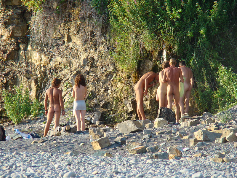 порно черное море пляж