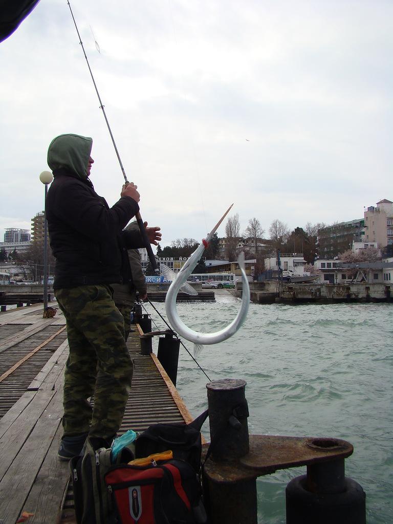 рыбалка в анапе март