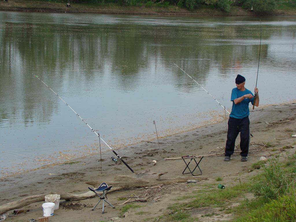 ловля весной на реке кубань