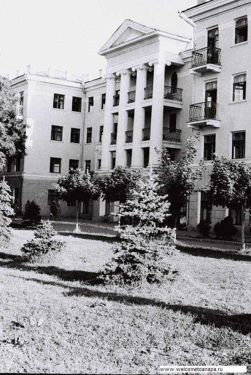 старая анапа,старые гостиницы в Анапе,