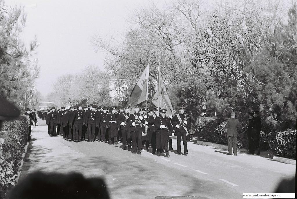 Анапа моряки парад,