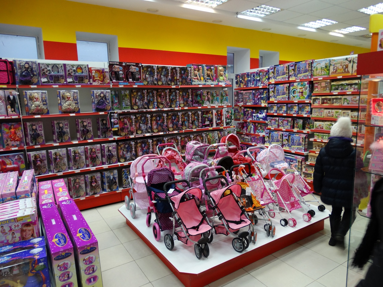 Магазин игрушек катюша