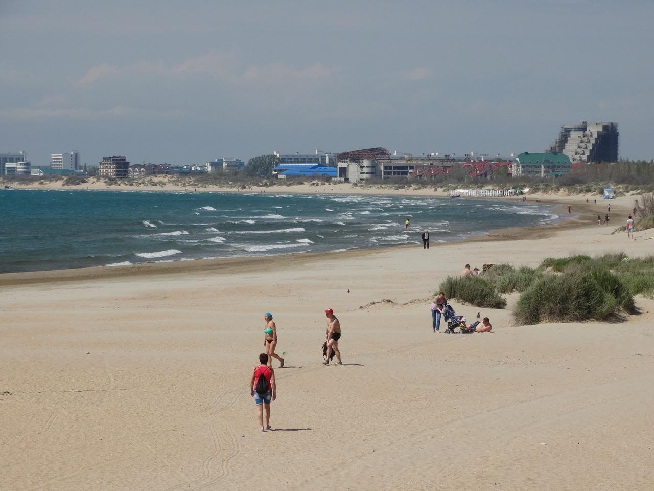 Анапа фото пляжей отзывы