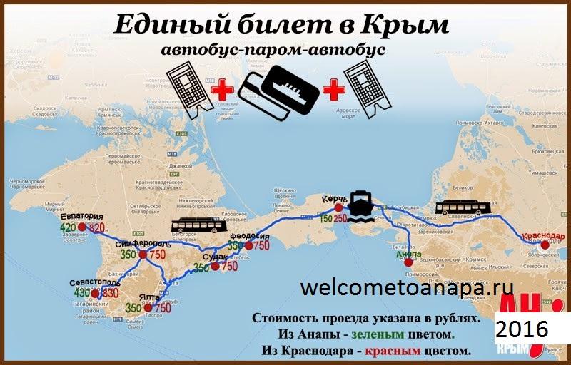 Автобус севастополь анапа отзывы 198