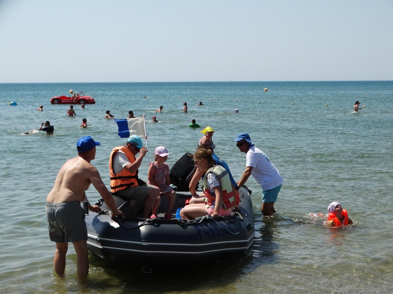 катание на лодке в анапе