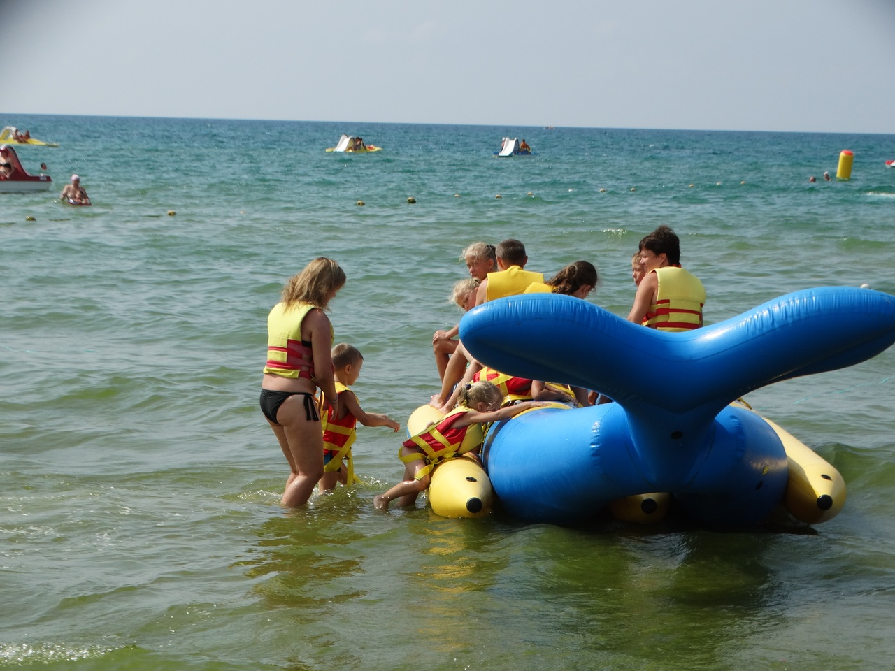 Развлечения на пляжах фото