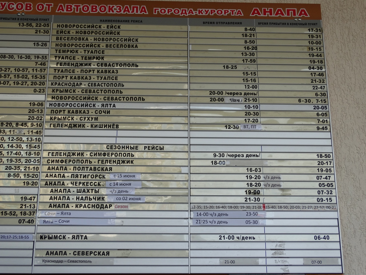 Автобус севастополь анапа отзывы 199