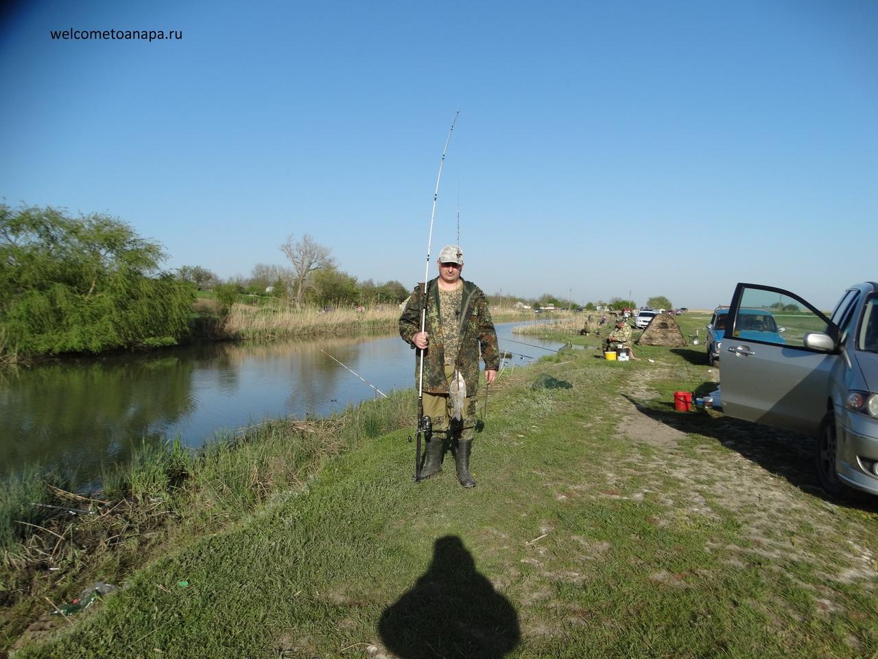 Рыболовная база в краснодарском крае водолей
