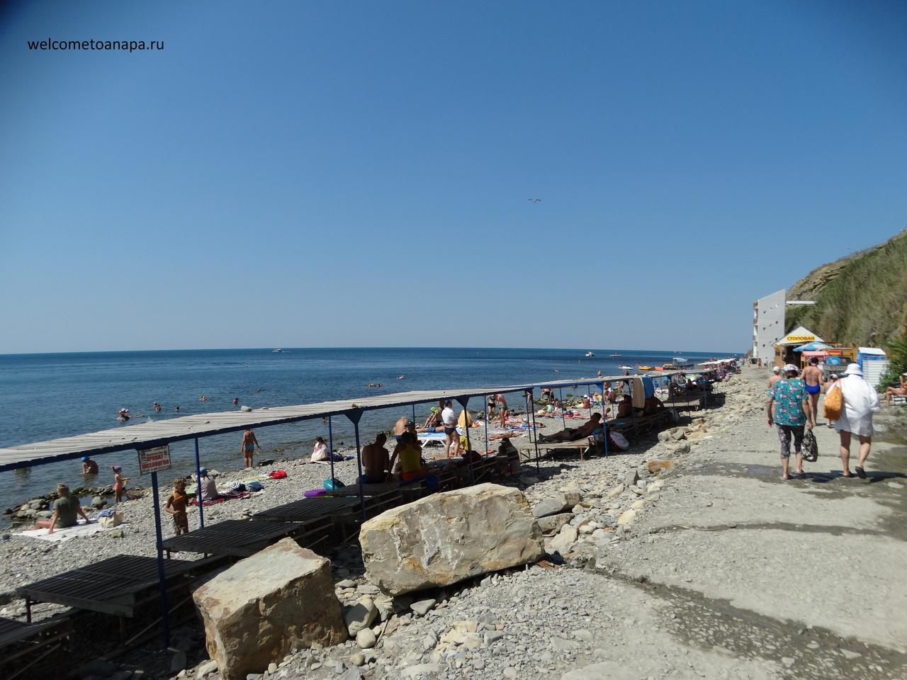 Анапа фото галечных пляжей