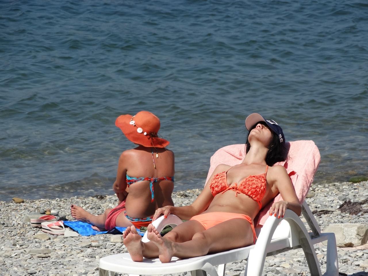 Крым фото пляж девушки фото 2015