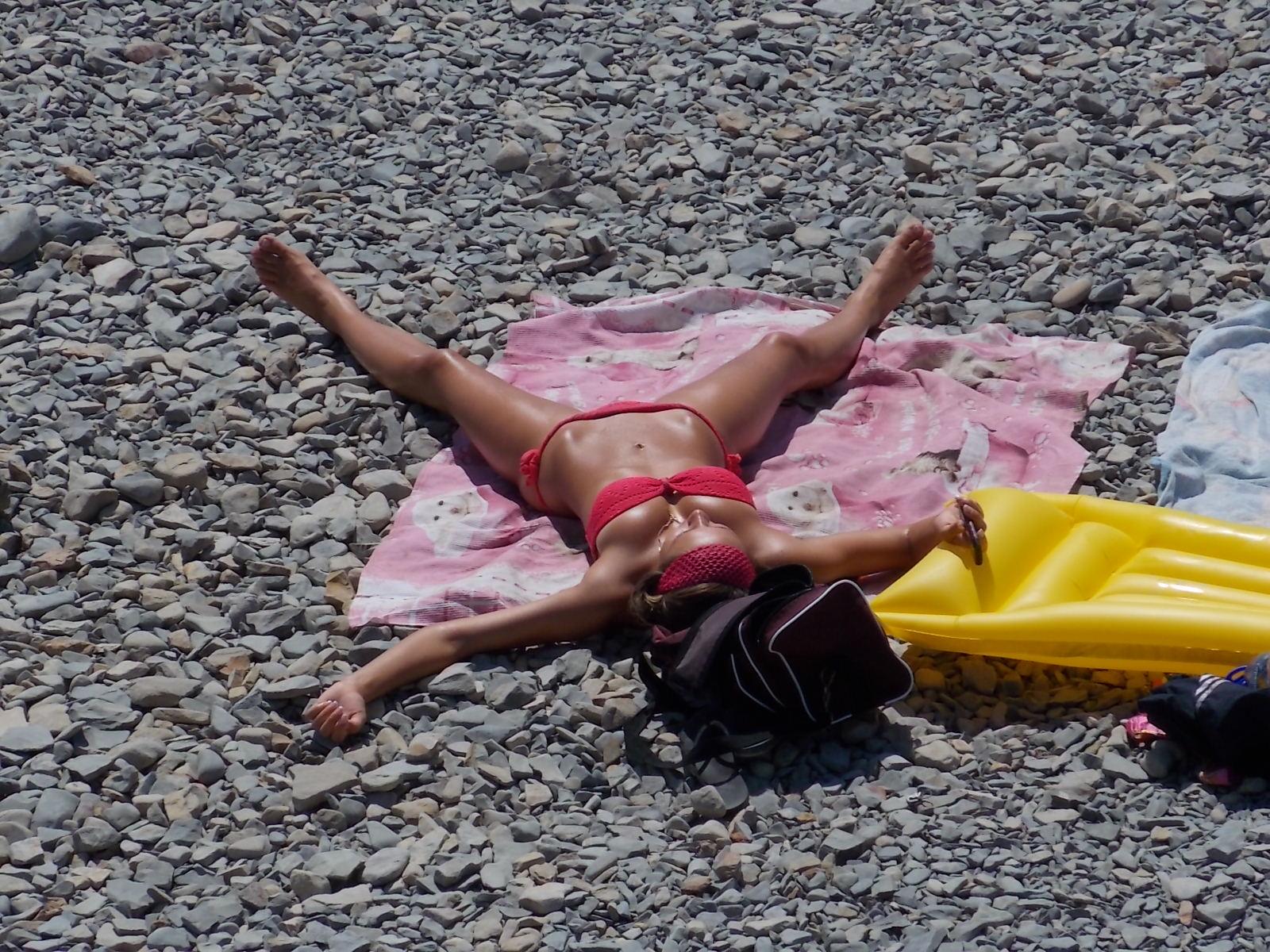 Секс ру дикий пляж видео